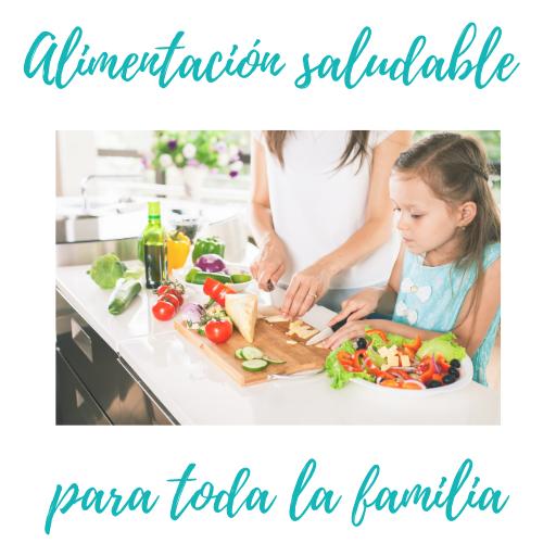 Alimentación saludable familias